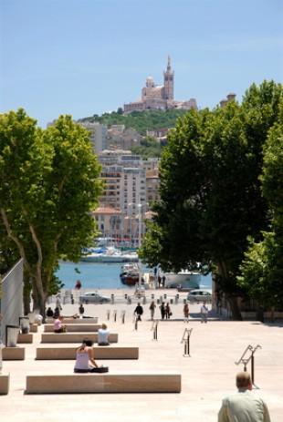MARSEILLE - Démarrage des travaux de réaménagement du Vieux Port