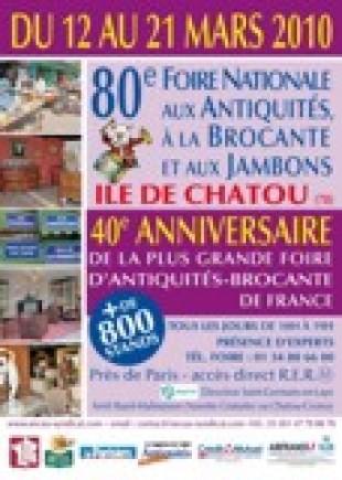 Foire nationale aux antiquités de Chatou