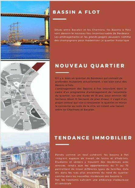 Bordeaux et ses principaux quartiers - BASSINS A FLOT