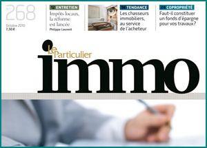 ARTICLE Octobre 2010 - Un agent au service exclusif de l'acheteur