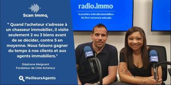 RADIO IMMO en partenariat avec MEILLEURSAGENTS - JUILLET 2019